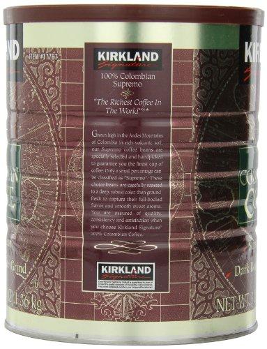 Signature-100-Colombian-Coffee-Supermo-Bean-Drak-Roast-Fine-Grind-3-Pound-0-1
