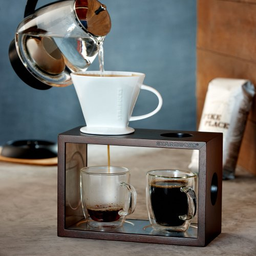 What Is A Coffee Maker At Starbucks Called : Coffee Consumers Starbucks Brew By the Cup Pour-Over Brewing System