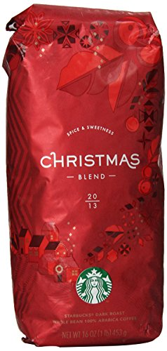 Coffee Consumers | Starbucks Christmas Blend Coffee Beans 100 ...