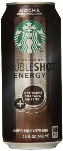 Starbucks Doubleshot Energy Coffee Mocha 15 Ounce Cans 12 Count