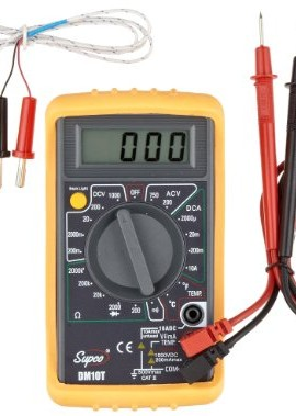 Supco-DM10T-Economy-Digital-Multimeter-with-Temperature-Reading-32-to-74-Degrees-F-750-AC-Volts-0