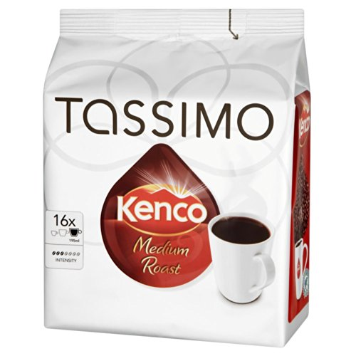 Coffee Consumers Tassimo Kenco Medium Roast Coffee 16 T