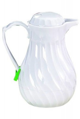 Tablecraft-444-Plastic-Swirl-Decanter-40-Ounce-White-0