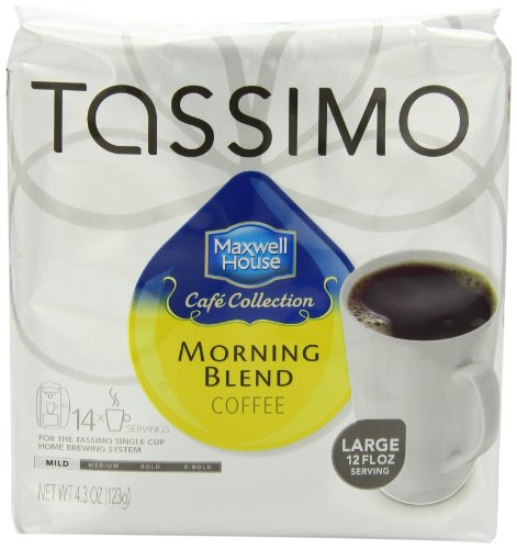 coffee consumers tassimo maxwell house cafe collection. Black Bedroom Furniture Sets. Home Design Ideas