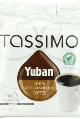 Tassimo-Yuban-100-Colombian-Coffee-Net-Wt-388-Oz-14-Count-T-Discs-0