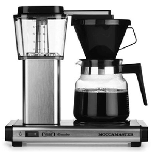 Technivorm Moccamaster Coffee Maker With Glass Carafe Brushed Silver : Coffee Consumers Technivorm Moccamaster Thermal K 741 AO (2012 Model) Coffee Brewer With Glass ...