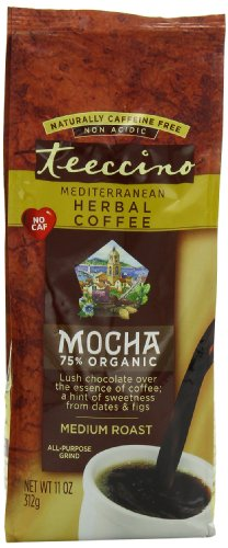 Teeccino-Herbal-Coffee-Mediterranean-Mocha-Caffeine-Free-11-Ounce-Bags-Pack-of-3-0
