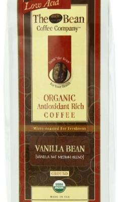 The-Bean-Coffee-Company-Vanilla-Bean-Vanilla-Nut-Medium-Blend-Organic-Ground-16-Ounce-Bags-Pack-of-2-0