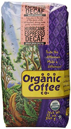 The-Organic-Coffee-Co-Whole-Bean-Decaf-Hurricane-Espresso-12-Ounce-0