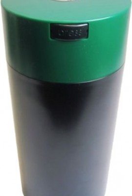 Tightvac-1-12-Pound-Vacuum-Sealed-Dry-Goods-Storage-Container-Black-BodyForest-GreenCap-0