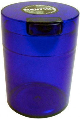 Tightvac-Coffeevac-1-Pound-Vacuum-Sealed-Storage-Container-Cobalt-Tinted-BodyCap-0