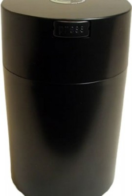 Tightvac-Coffeevac-1-Pound-Vacuum-Sealed-Storage-Container-Solid-Black-BodyCap-0