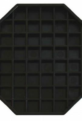 Update-International-DT-6X6-Octagonal-Plastic-Drip-Tray-6-by-6-Inch-0