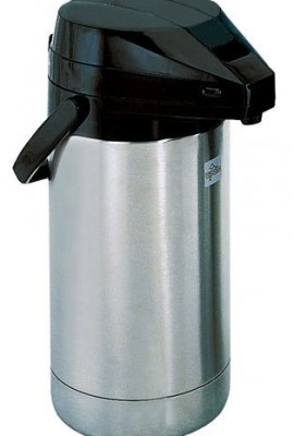 Update-International-FLSV-25BKBT-Stainless-Steel-Air-Pot-with-Black-Lever-Top-2-12-Liter-0
