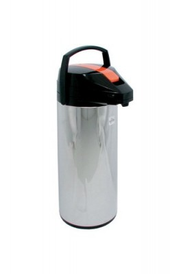 Update-International-FLSV-30ORBT-Stainless-Steel-Decaf-Air-Pot-with-Orange-lever-top-Satin-3-Liter-0