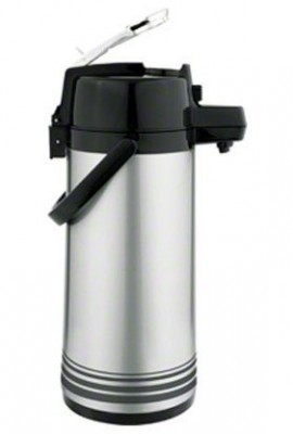 Update-International-LSVL-25-BKSF-Brushed-Stainless-Steel-Lever-Top-Airpot-Server-25-Liter-6-38-Inch-0