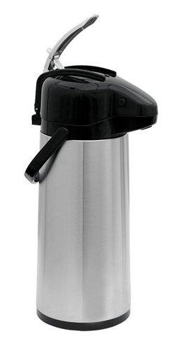 Update-International-NVAL-22BK-6-Pack-Stainless-Steel-Val-U-Air-Glass-Lined-Regular-Coffee-Air-Pot-74-Ounce-0