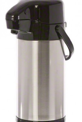 Update-International-NVSP-25BK-6-Pack-Sup-R-Air-Stainless-Steel-Air-Pot-with-Black-Push-Button-Top-84-Ounce-0