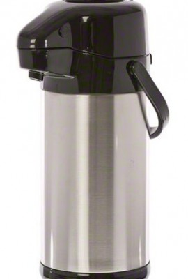 Update-International-NVSP-30BK-6-Pack-Sup-R-Air-Stainless-Steel-Air-Pot-with-Black-Push-Button-Top-101-Ounce-0