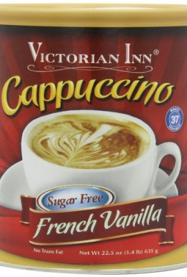 Victorian-Inn-Instant-Cappuccino-Sugar-Free-French-Vanilla-14-Pound-0