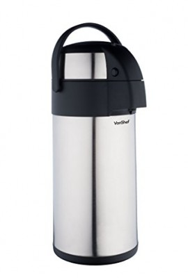 VonShef-Thermal-Airpot-Beverage-Dispenser-Stainless-Steel-Available-in-3-Liter-or-5-Liter-Capacity-0