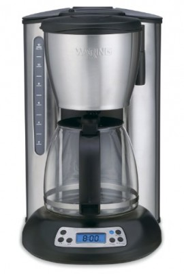 Waring-CMS120-Professional-12-Cup-Programmable-Coffeemaker-Black-and-Stainless-Steel-0