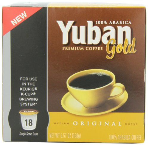 Coffee Consumers Yuban Gold Original Coffee Pods 18 Count