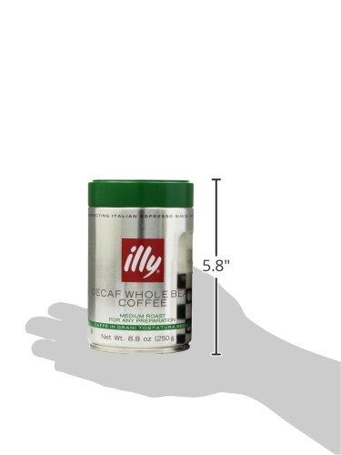 illy-Caffe-Decaffeinated-Whole-Bean-Coffee-Medium-Roast-Green-Top-Box-of-six-88oz-coffee-cans-0-1
