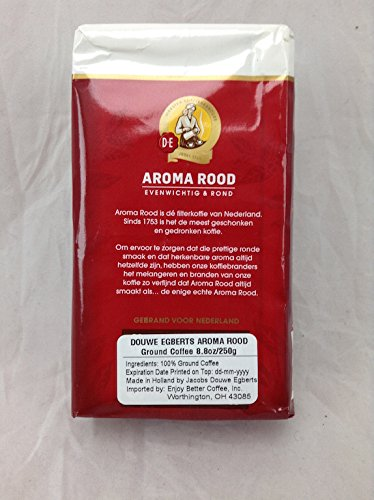 Douwe-Egberts-Aroma-Rood-Ground-Coffee-88-ounce-Packages-Pack-of-4-0-0