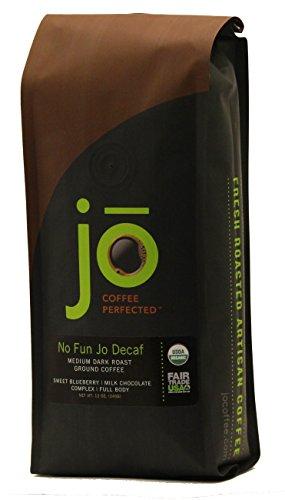 NO-FUN-JO-DECAF-12-oz-Organic-Decaf-Ground-Coffee-Swiss-Water-Process-Fair-Trade-Certified-Medium-Dark-Roast-100-Arabica-Coffee-USDA-Certified-Organic-NON-GMO-0-0