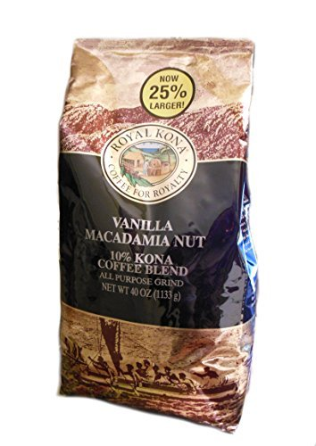 Royal-Kona-Vanilla-Macadamia-Nut-10-Kona-Coffee-40-oz-Ground-0
